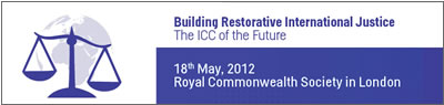 Building Restorative International Justice event